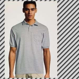 Brand New Hanes Jersey Polo